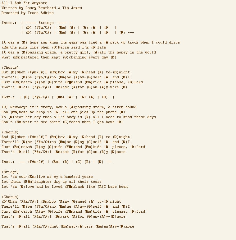 You Dont Love Me Anymore Chords And Lyrics Bradva Docefo